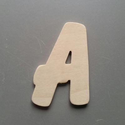 Lettres bois modèle BALLOON