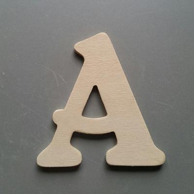Lettres bois modèle BELSHAW
