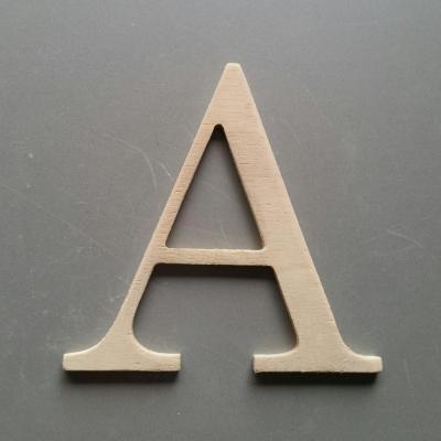 Lettres bois modèle CENTURY