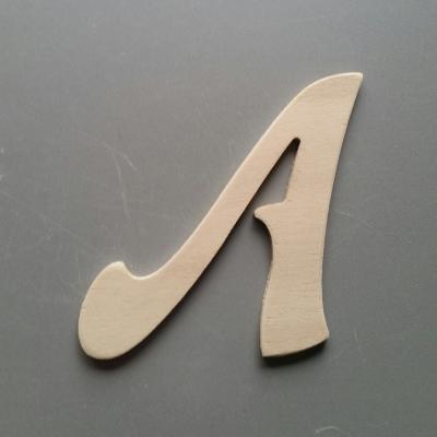 Lettres bois modèle FELIPE