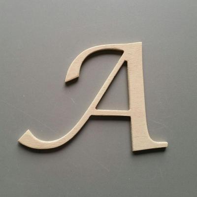 Lettres bois LUCIDA CALLIGRAPHY