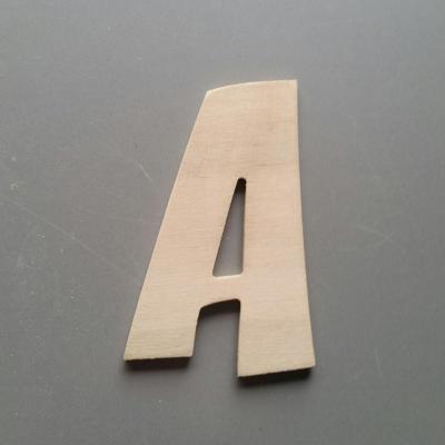 Lettres bois modèle ZOINKS