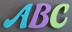 Lettres décoration couleur FELIPE