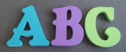 Lettres décoratives bois couleur BELSHAW
