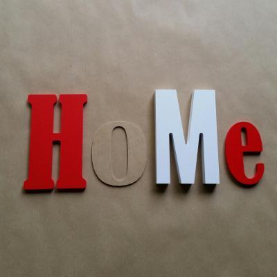 Lettres décoratives Home