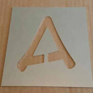 Pochoir lettre metal anime ace