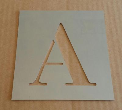Pochoir lettre métal modèle CENTURY